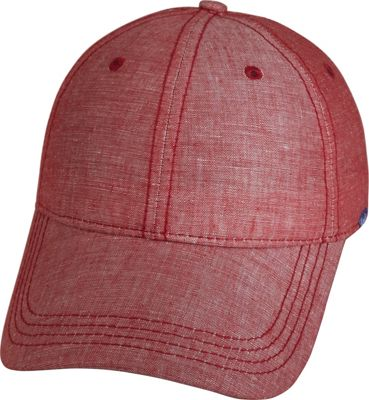 Keds Chambray Baseball Cap One Size - Red Chambray - Keds Hats/Gloves/Scarves