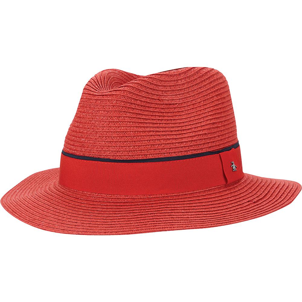 Original Penguin Klein Fedora L/XL - Huate Red - Original Penguin Hats/Gloves/Scarves