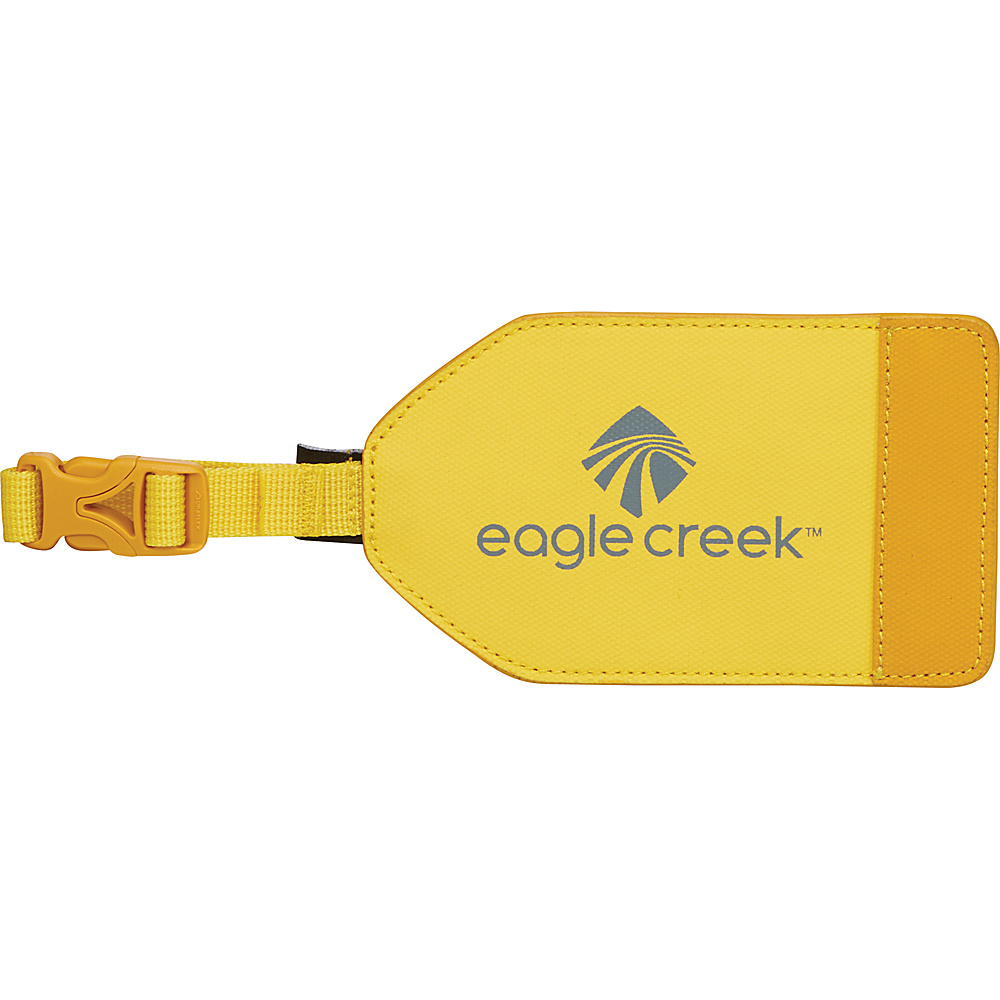 Eagle Creek Bi-Tech Luggage Tag Canary - Eagle Creek Luggage Accessories