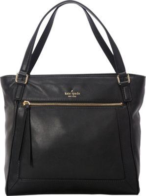 kate spade new york Briar Lane Peters Satchel Black - kate spade new york Designer Handbags