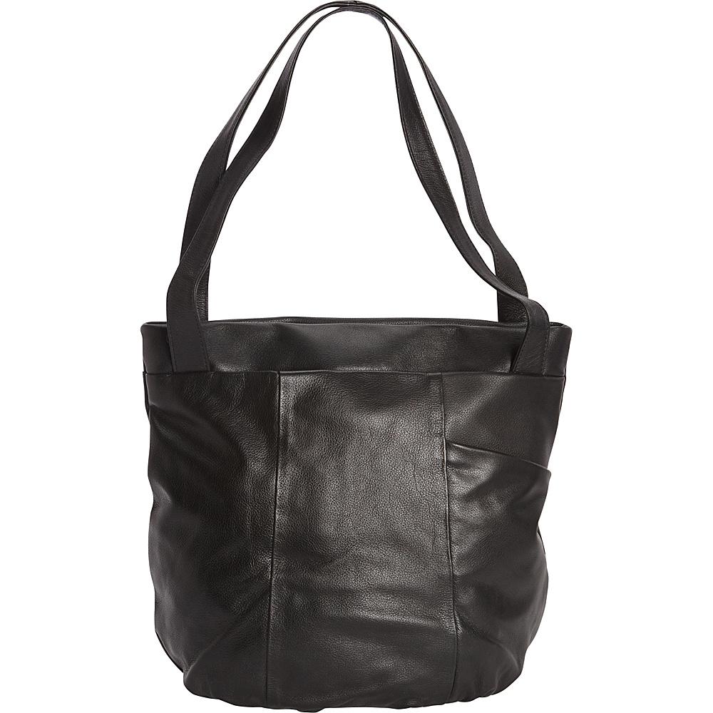 Derek Alexander Large Top Zip Tote Black - Derek Alexander Leather Handbags - Handbags, Leather Handbags