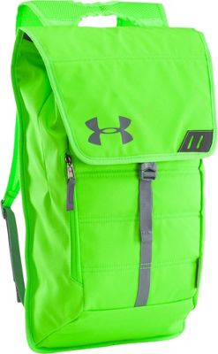 Under Armour Tech Pack Sackpack Hyper Green/Steel/Steel - Under Armour School & Day Hiking Backpacks