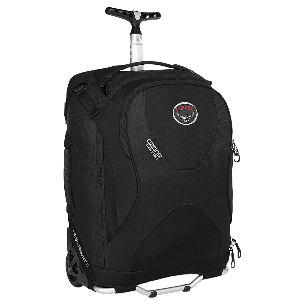 Osprey Ozone 18 inch/36L Black- DISCONTINUED - Osprey Softside Carry-On - Luggage, Softside Carry-On