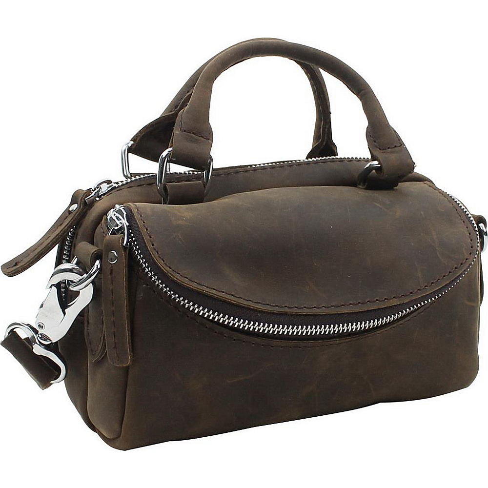 Vagabond Traveler 8.5 Leather Satchel Distress - Vagabond Traveler Leather Handbags - Handbags, Leather Handbags