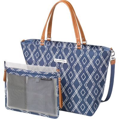 Petunia Pickle Bottom Petunia Pickle Bottom Altogether Tote Indigo - Petunia Pickle Bottom Diaper Bags & Accessories
