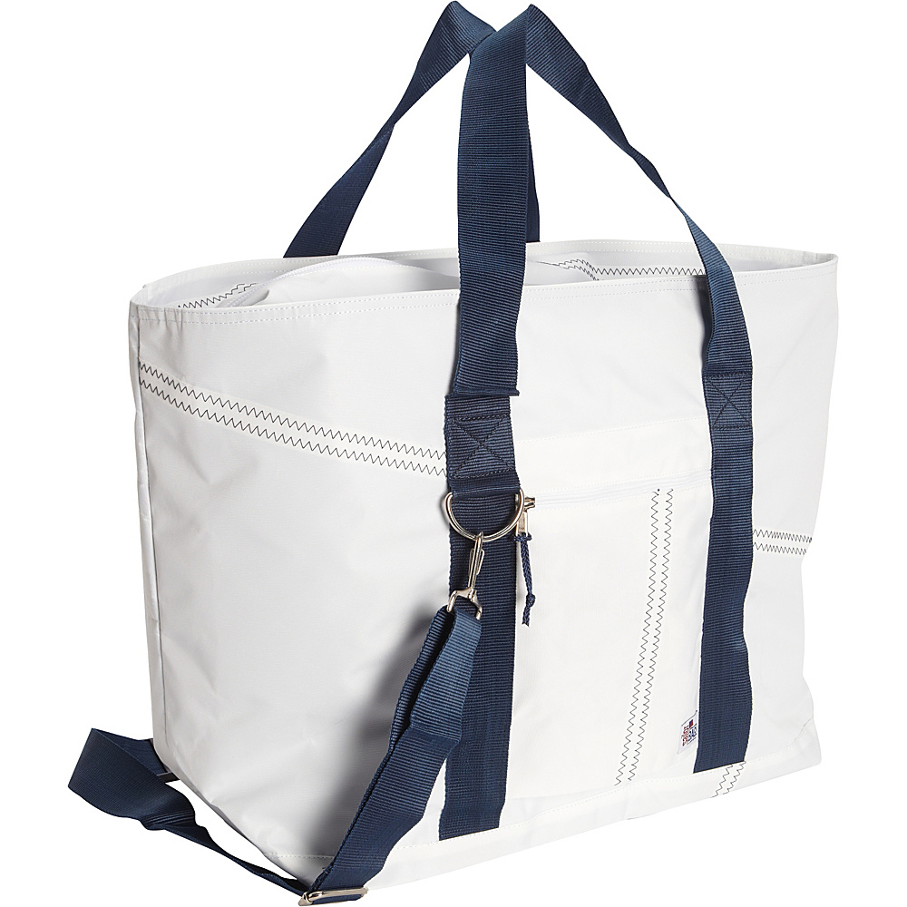 SailorBags Large Tote White Blue SailorBags All Purpose Totes