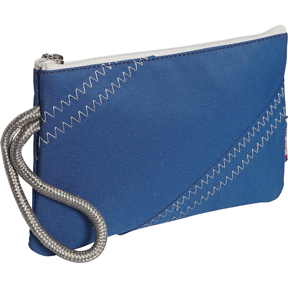SailorBags Wristlet Blue Grey SailorBags Women s Wallets