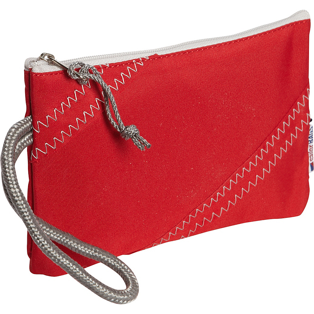 SailorBags Wristlet Red Grey SailorBags Women s Wallets