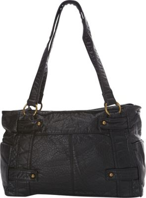 Ampere Creations The Emma Tote Black - Ampere Creations Manmade Handbags