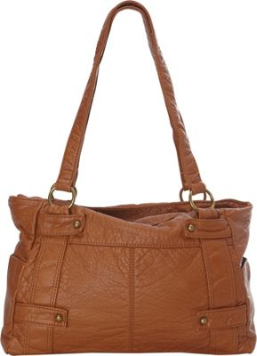 Ampere Creations The Emma Tote Brown - Ampere Creations Manmade Handbags