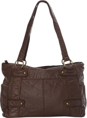 Ampere Creations The Emma Tote Chocolate Brown - Ampere Creations Manmade Handbags