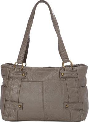 Ampere Creations The Emma Tote Grey - Ampere Creations Manmade Handbags