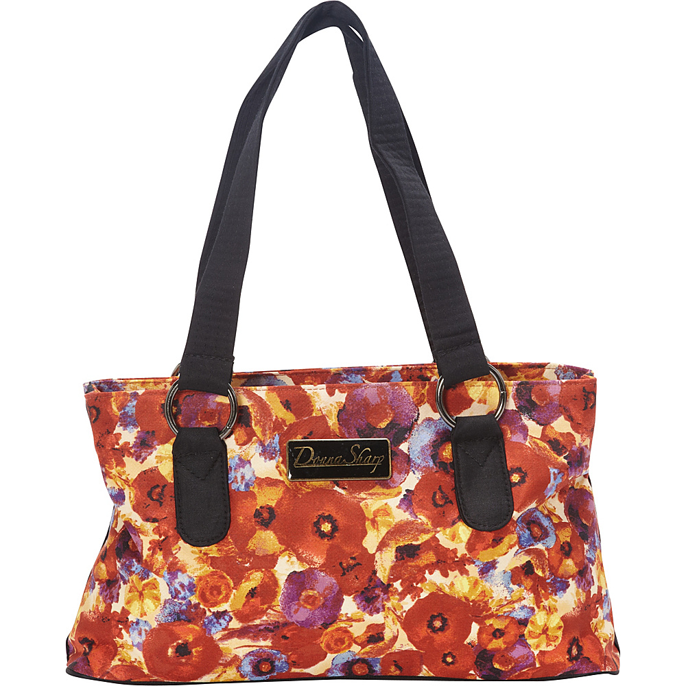 Donna Sharp Reese Bag Poppy Field Donna Sharp Fabric Handbags
