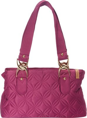 Donna Sharp Reese Bag Magenta - Donna Sharp Fabric Handbags