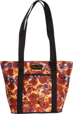 Donna Sharp Leah Tote Poppy Field - Donna Sharp Fabric Handbags