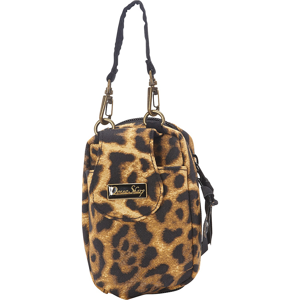 Donna Sharp Cell Phone Purse Jaguar - Donna Sharp Fabric Handbags