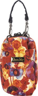 Donna Sharp Cell Phone Purse (Poppy Field)