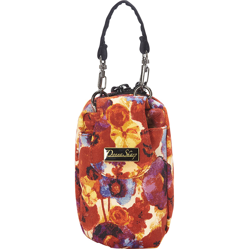 Donna Sharp Cell Phone Purse Poppy Field - Donna Sharp Fabric Handbags