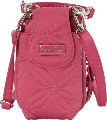 Donna Sharp Cell Phone Purse Raspberry - Donna Sharp Fabr...