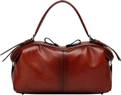 Vicenzo Leather Ellen Tote Leather Handbag Red - Vicenzo Leather Leather Handbags