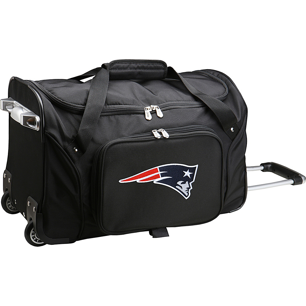 Denco Sports Luggage NFL 22  Rolling Duffel New England Patriots - Denco Sports Luggage Rolling Duffels - Luggage, Rolling Duffels