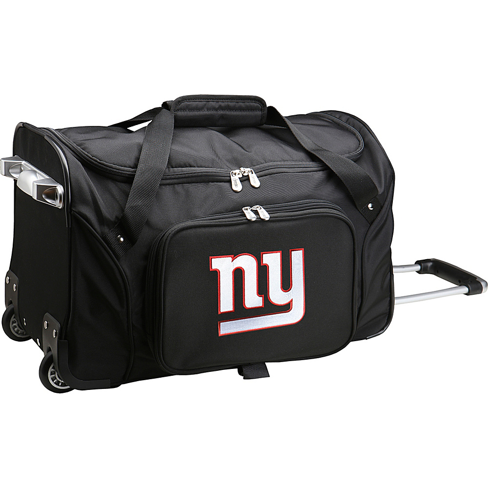 Denco Sports Luggage NFL 22  Rolling Duffel New York Giants - Denco Sports Luggage Rolling Duffels - Luggage, Rolling Duffels