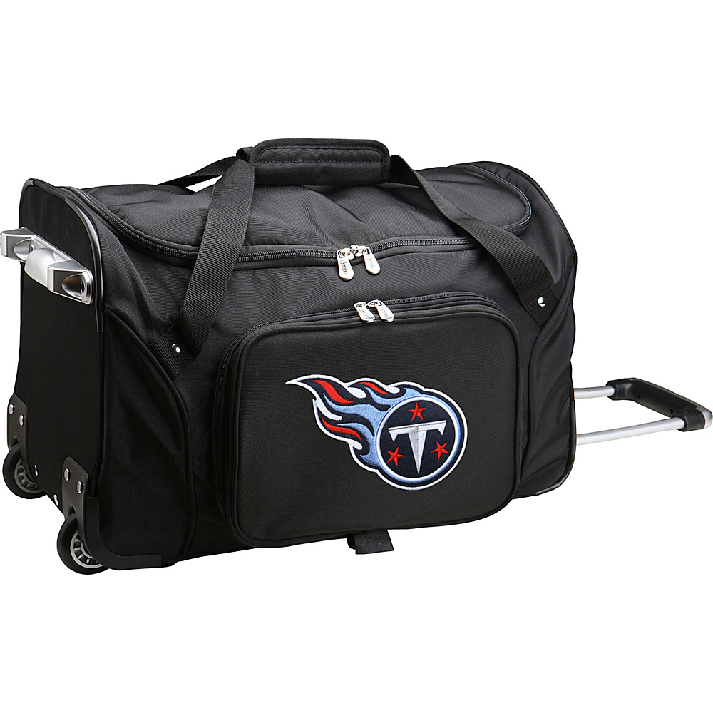 Denco Sports Luggage NFL 22  Rolling Duffel Tennessee Titans - Denco Sports Luggage Rolling Duffels - Luggage, Rolling Duffels