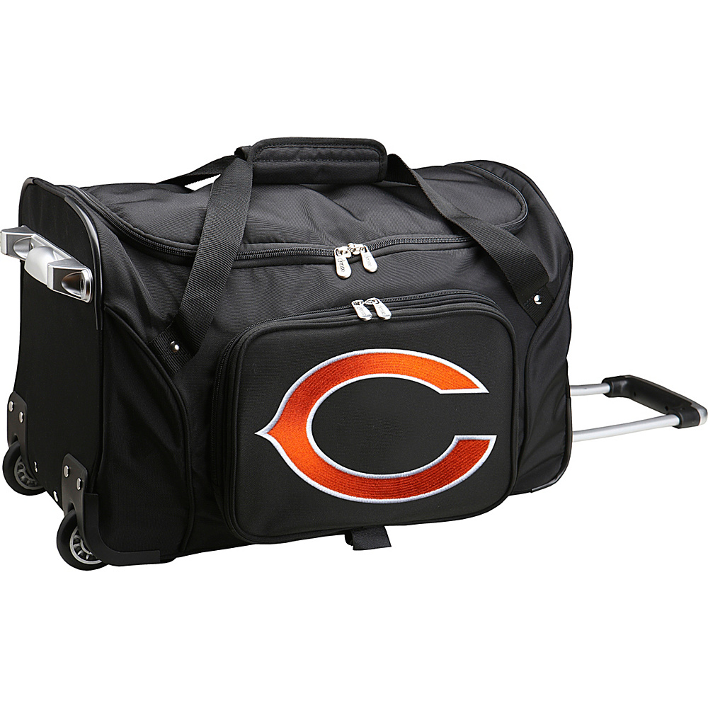 Denco Sports Luggage NFL 22  Rolling Duffel Chicago Bears - Denco Sports Luggage Rolling Duffels - Luggage, Rolling Duffels