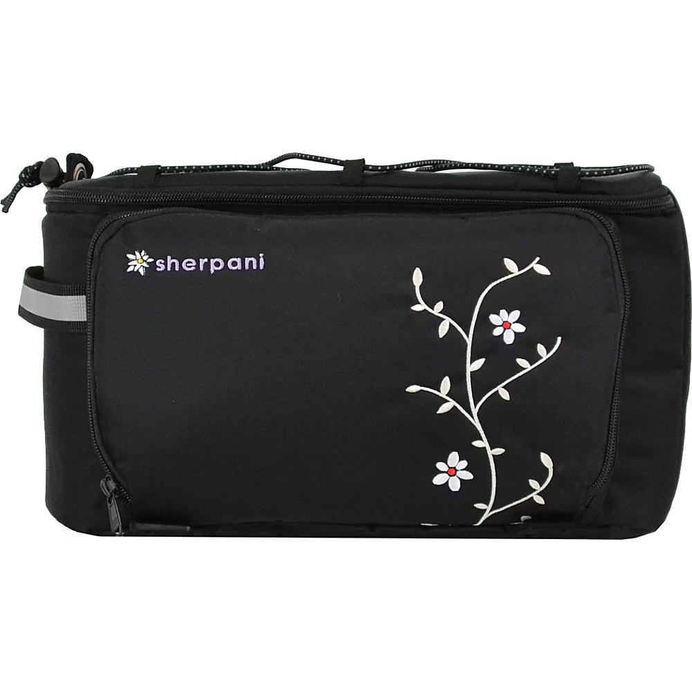 Sherpani Gira Rack Trunk Bag Black - Sherpani Lightweight packable expandable bags