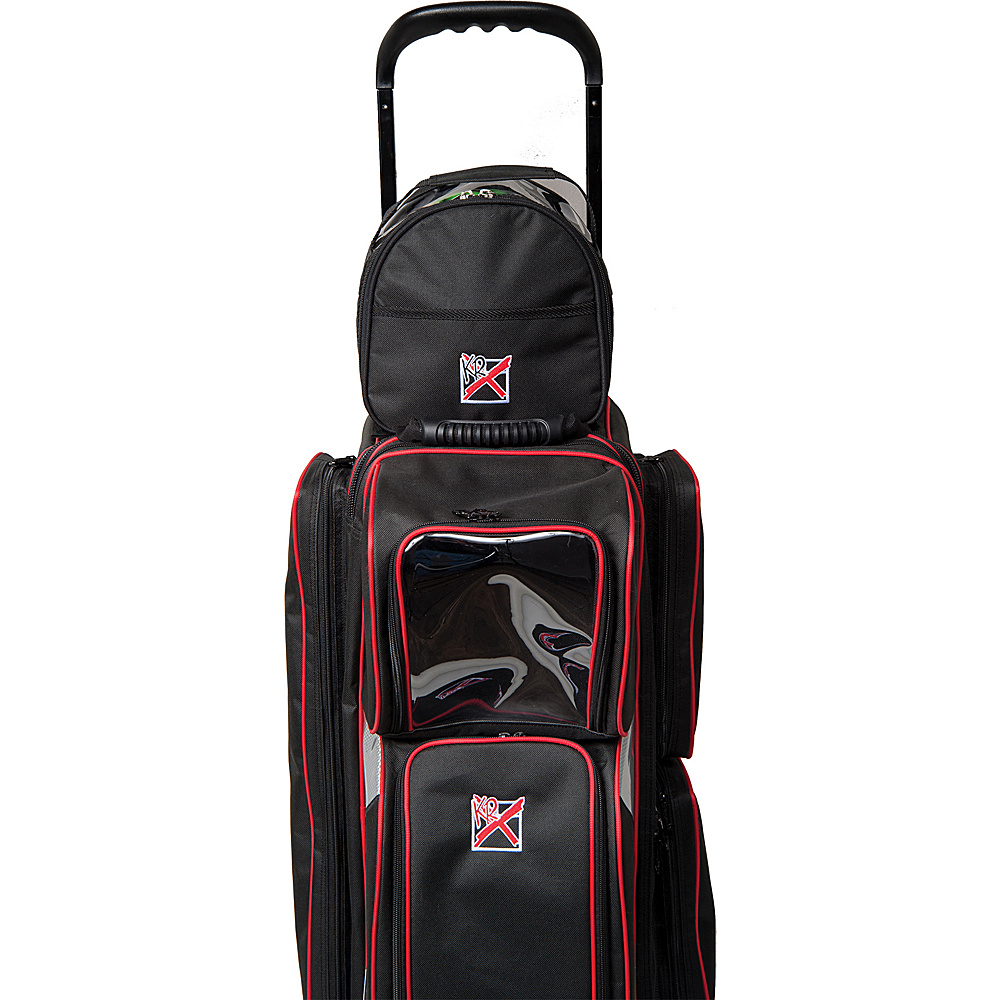 KR Strikeforce Bowling Add On Bag Black KR Strikeforce Bowling Bowling Bags