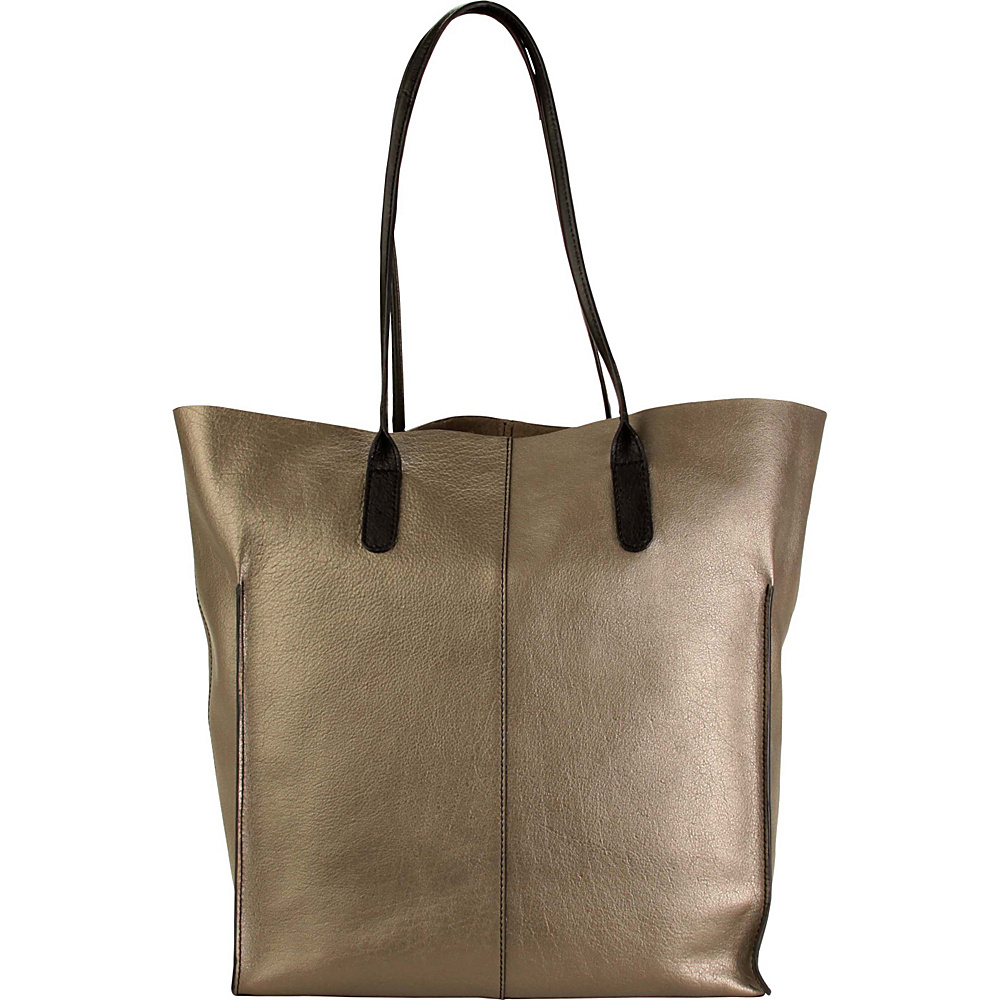 Hadaki Market Tote Bronze - Hadaki Leather Handbags - Handbags, Leather Handbags
