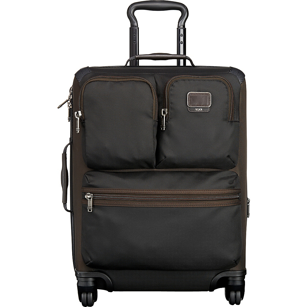 Tumi Alpha Bravo Kirtland Continental Expandable Carry On Hickory - Tumi Softside Carry-On - Luggage, Softside Carry-On