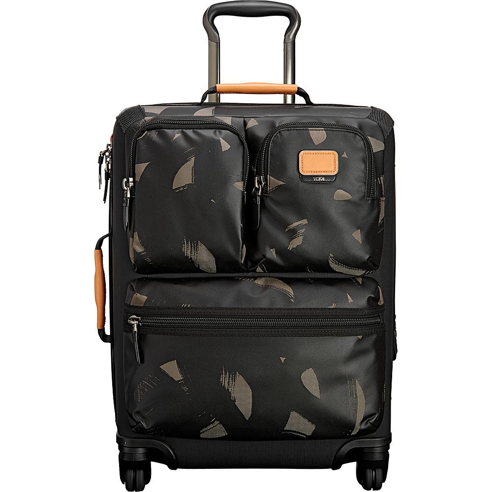 Tumi Alpha Bravo Kirtland Continental Expandable Carry On Smoke Character Print - Tumi Softside Carry-On