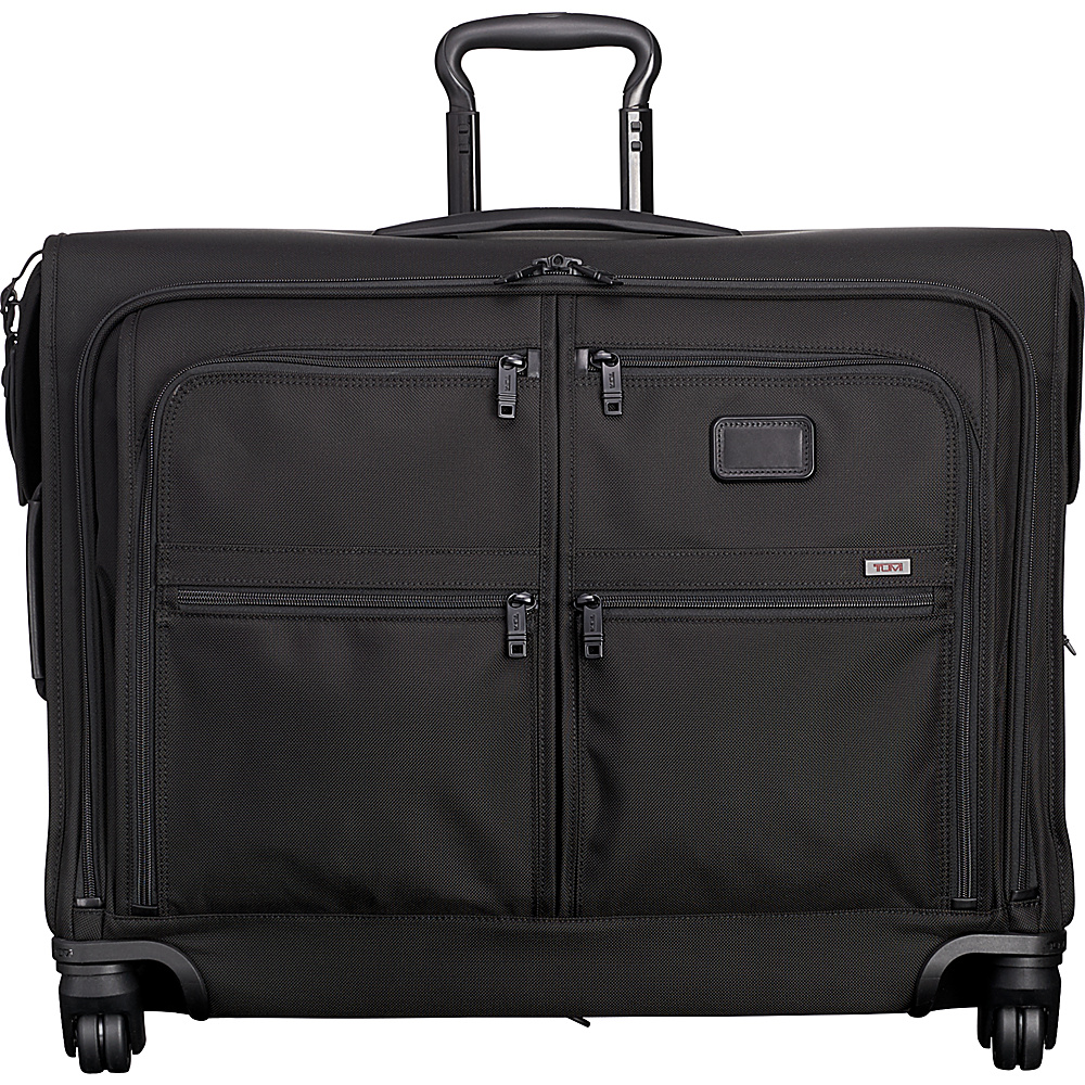 Tumi Alpha 2 4 Wheeled Medium Trip Garment Bag Black D-2 - Tumi Garment Bags - Luggage, Garment Bags