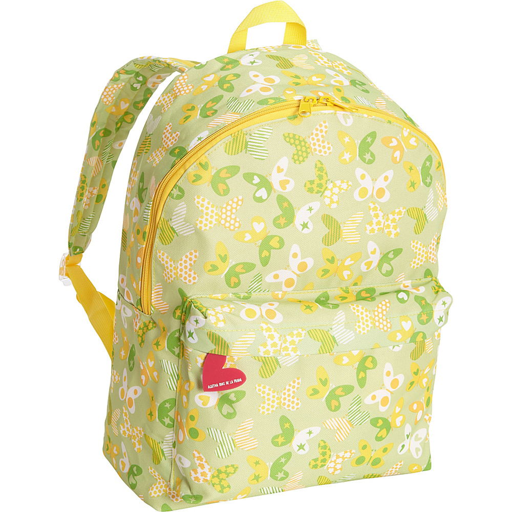Miquelrius Agatha Butterflies Large Backpack Butterflies Miquelrius Everyday Backpacks