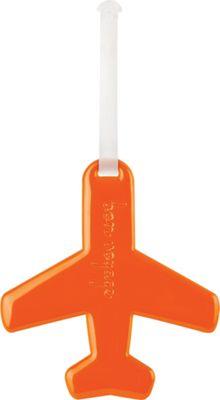 ALIFE DESIGN Alife Design Airplane Luggage Tags Orange - ALIFE DESIGN Luggage Accessories