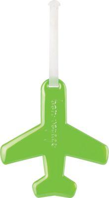 ALIFE DESIGN Alife Design Airplane Luggage Tags Green - ALIFE DESIGN Luggage Accessories