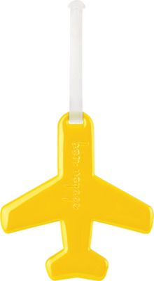 ALIFE DESIGN Alife Design Airplane Luggage Tags Yellow - ALIFE DESIGN Luggage Accessories