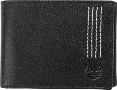 Timberland Wallets Sport Quad Passcase Black - Timberland Wallets Mens Wallets