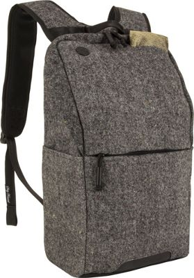 Focused Space The Ivy League Backpack Grey - Focused Space Business & Laptop Backpacks