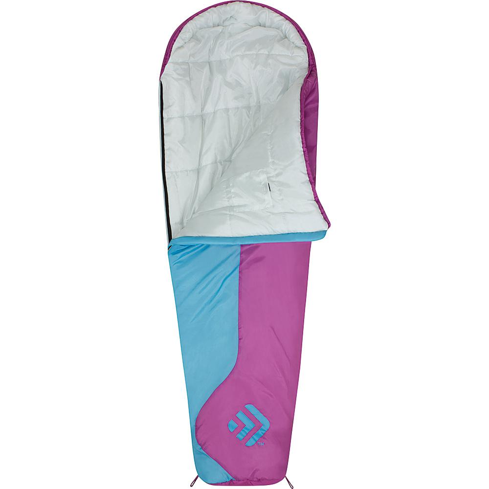 Outdoor Products Girl s Mummy Sleeping Bag Rosebud Outdoor Products Outdoor Accessories