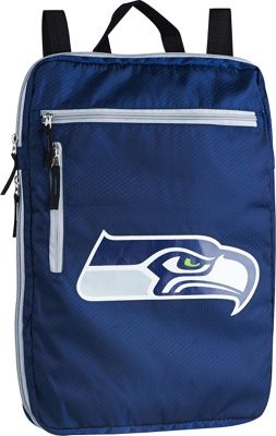 Concept One by USPA Accessories NFL  Seattle Seahawks Wide Back Sack Navy - Concept One by USPA Accessories School & Day Hiking Backpacks