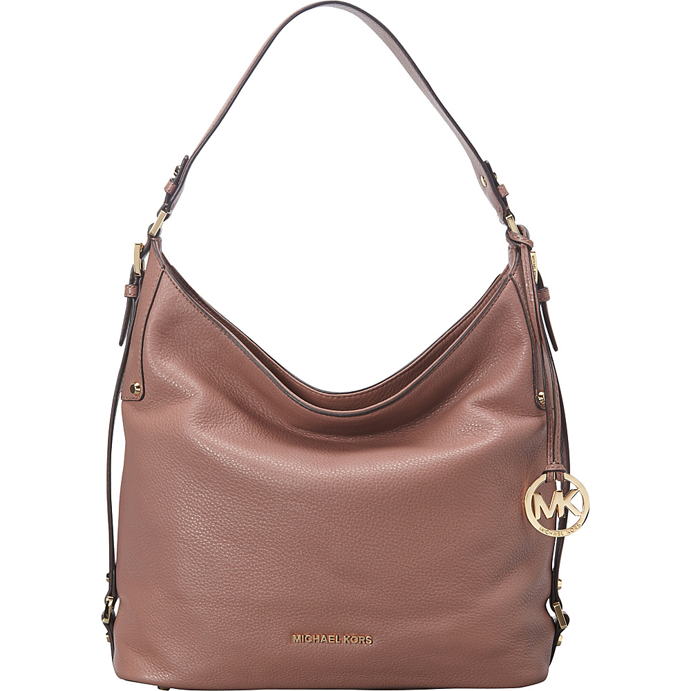 MICHAEL Michael Kors Bedford Belted Large Shoulder Dusty Rose - MICHAEL Michael Kors Designer Handbags