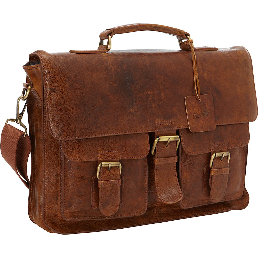 Rawlings Rugged Messenger Cognac Rawlings Messenger Bags