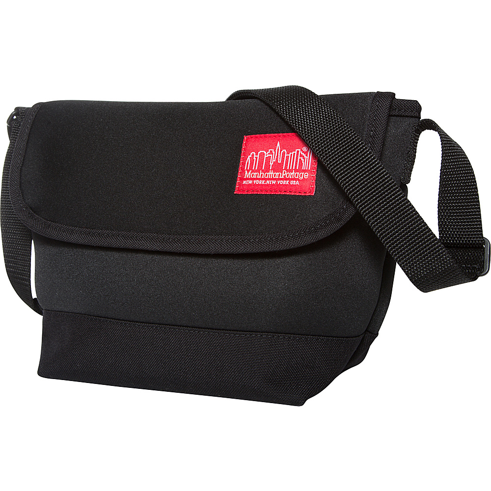 Manhattan Portage Neoprene Messenger Bag Black - Manhattan Portage Messenger Bags - Work Bags & Briefcases, Messenger Bags