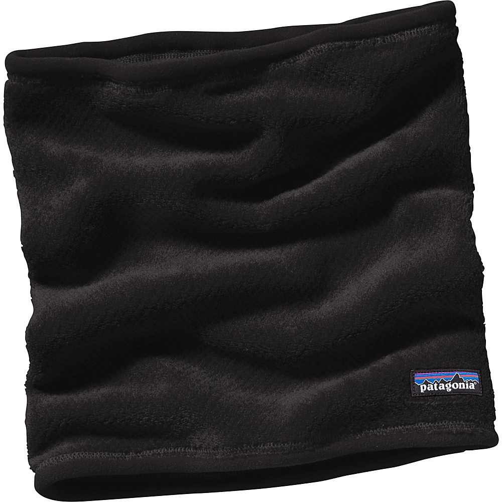 Patagonia Women s Re Tool Neck Gaiter Black Patagonia Hats Gloves Scarves