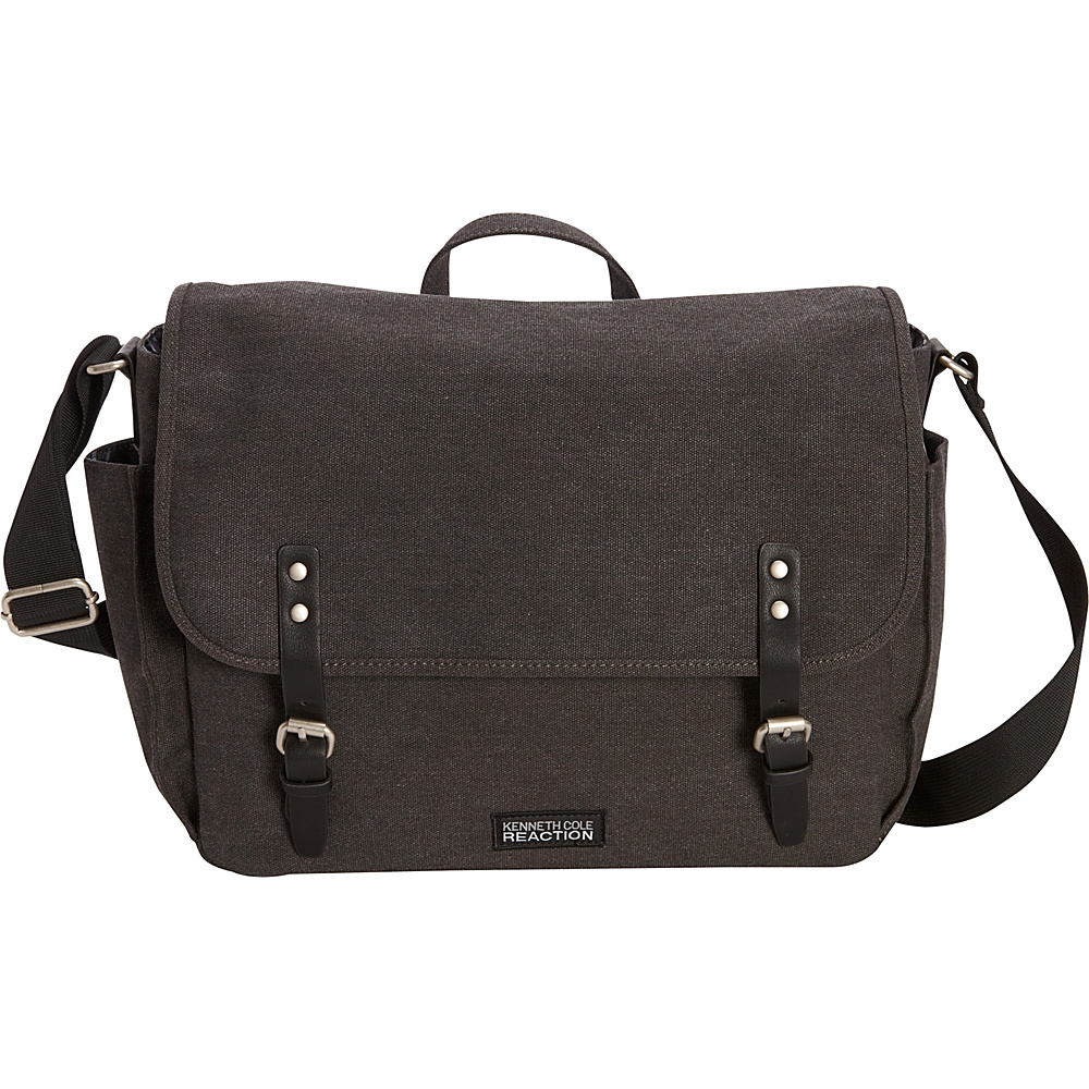 Kenneth Cole Reaction One Day Or Another 15 Messenger Bag Charcoal Kenneth Cole Reaction Messenger Bags
