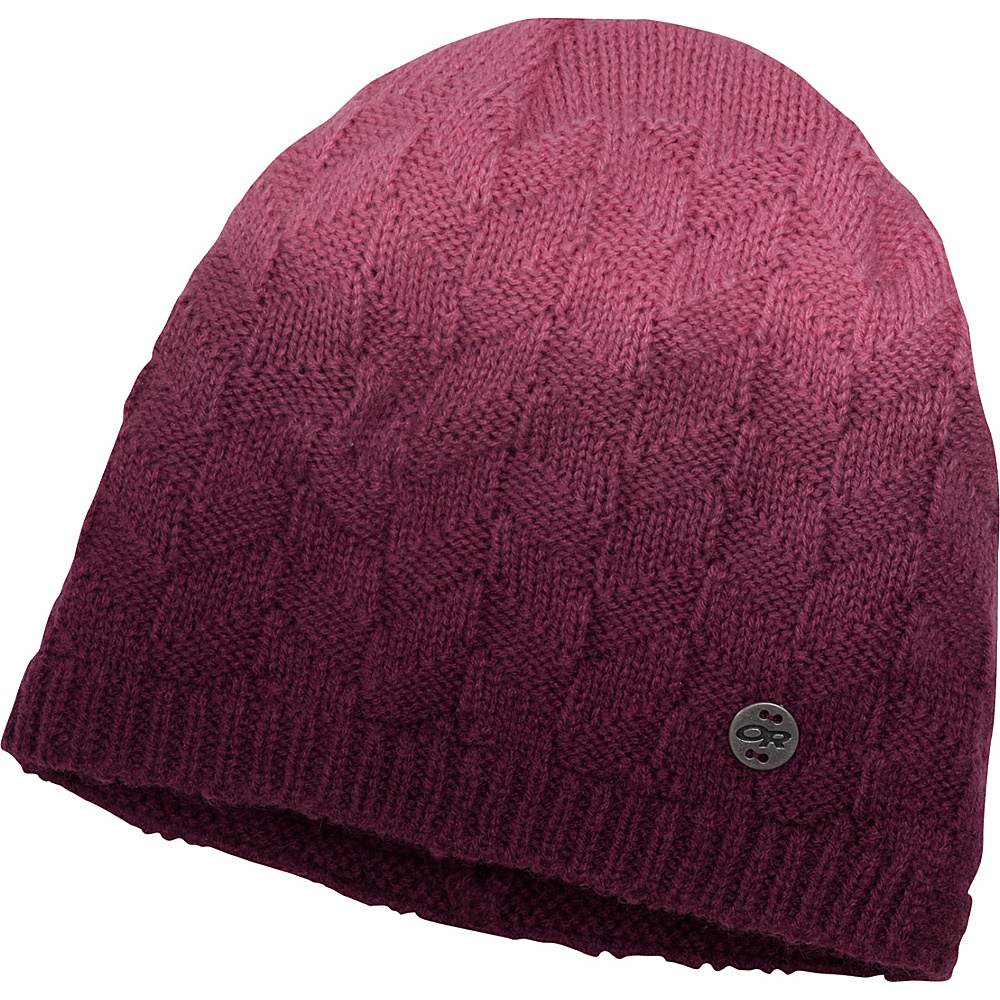 Outdoor Research Kirsti Beanie One Size - Pinot/Paradise – One Size - Outdoor Research Hats/Gloves/Scarves - Fashion Accessories, Hats/Gloves/Scarves