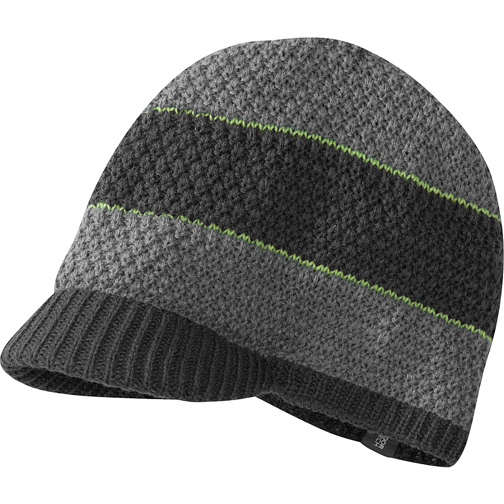 Outdoor Research Brink Beanie  Boys One Size - Charcoal/Pewter - Outdoor Research Hats/Gloves/Scarves - Fashion Accessories, Hats/Gloves/Scarves