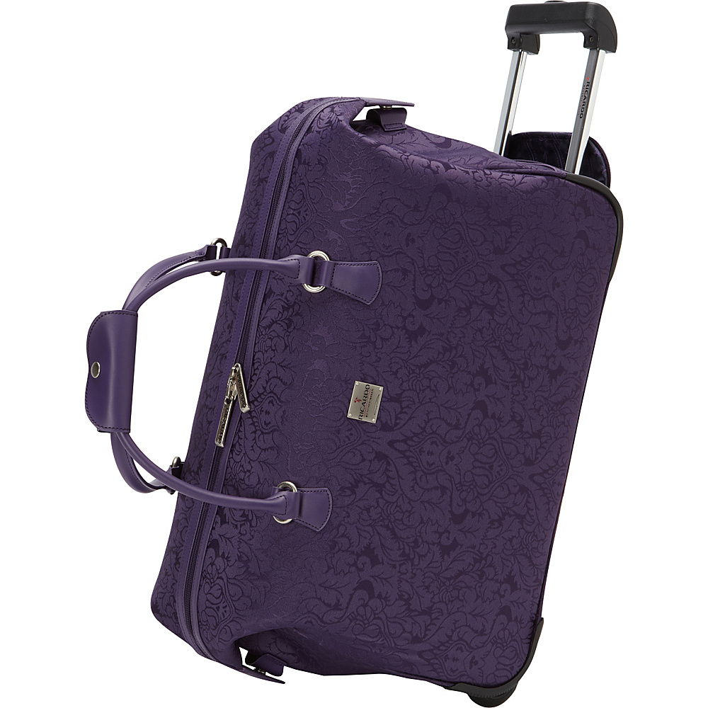 Ricardo Beverly Hills Imperial 20 2 Wheel City Bag Duffel Purple Ricardo Beverly Hills Rolling Duffels